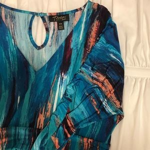 *PRETTY* THALIA SODI Colorful Tunic - M